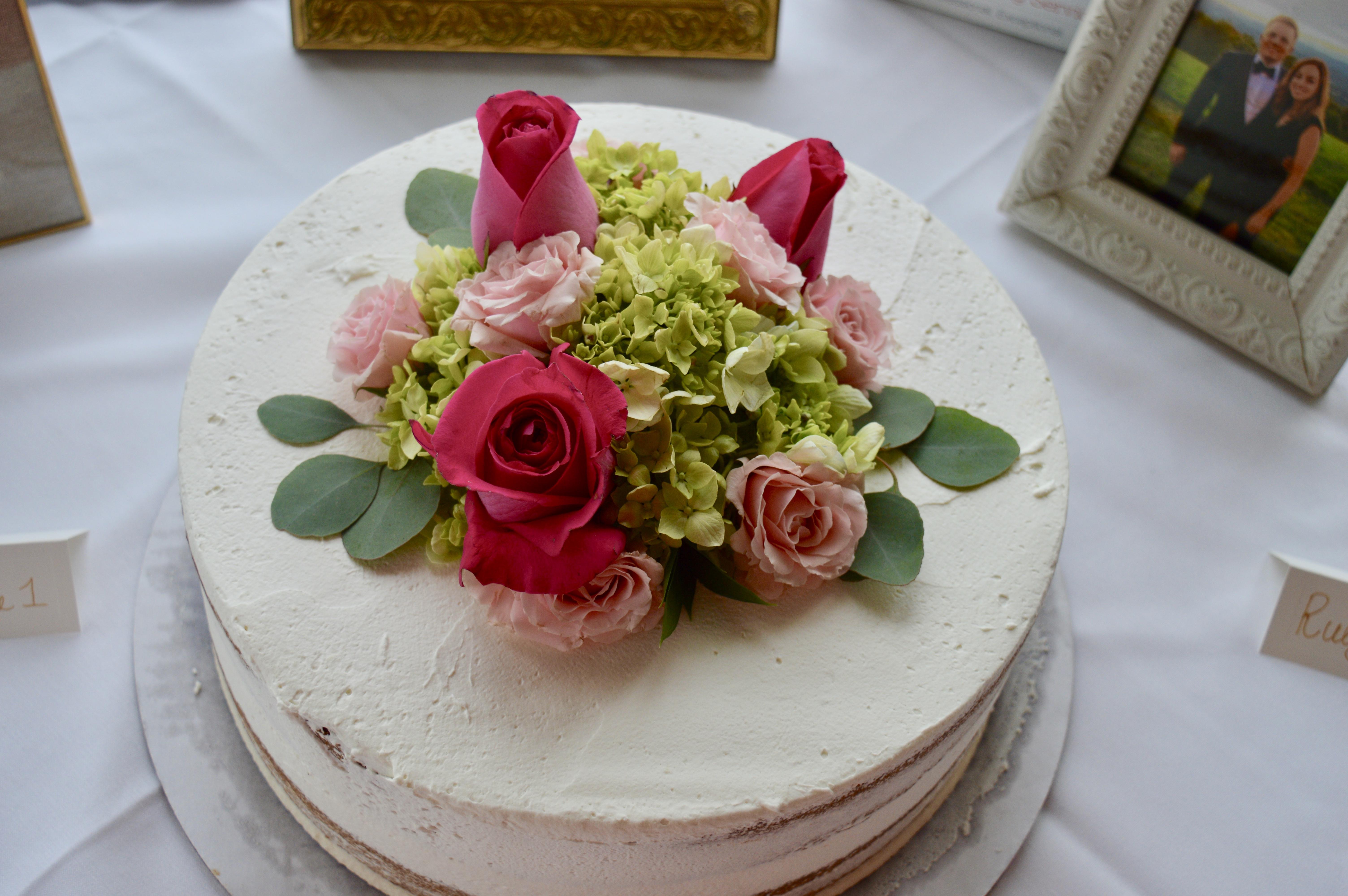 Gluten-free Vegan Bridal Shower Cake